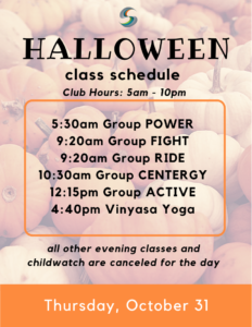 Stow Fitness Center Halloween