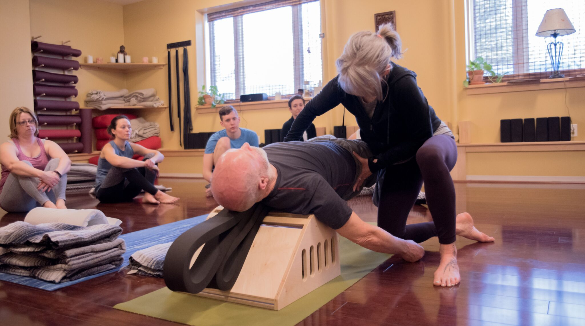 Group Yoga Therapy | Stow Fitness Center