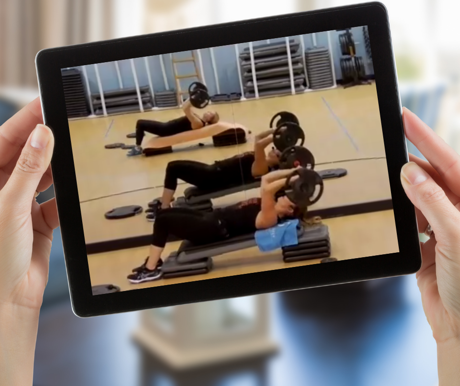 Stream LIVE fitness classes on any device from Stow Fitness Center