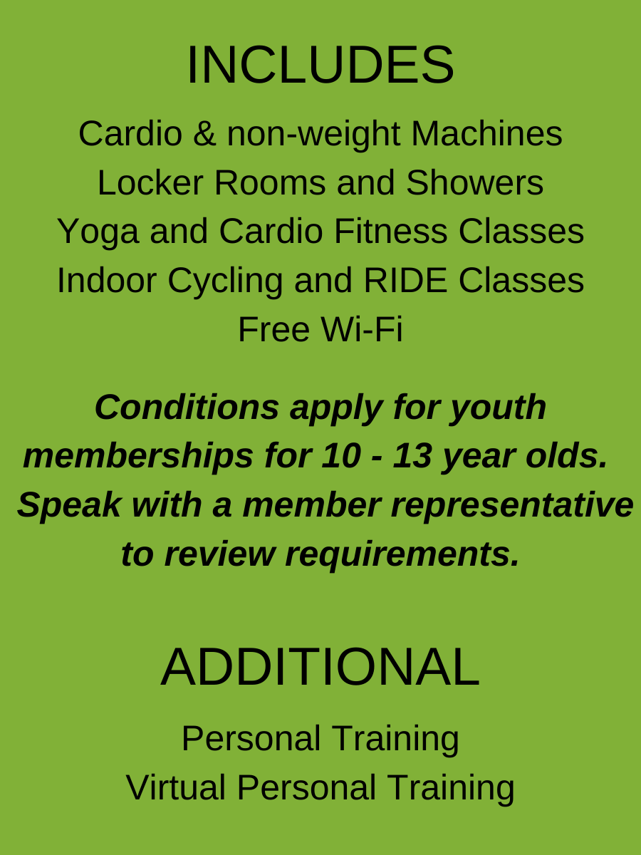Membership for For 10 - 13 year olds